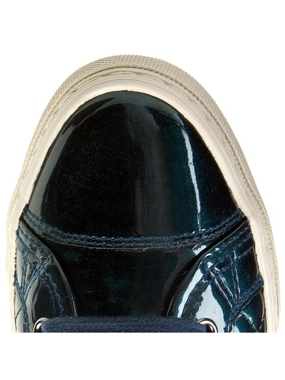 Geox Geox Sneakersy D New Club A D4258A 000HI C4006 Zelená