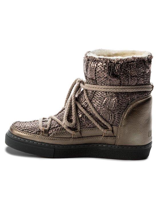 Inuikii Inuikii Schuhe Sneaker Wedge Galway 30105 Braun