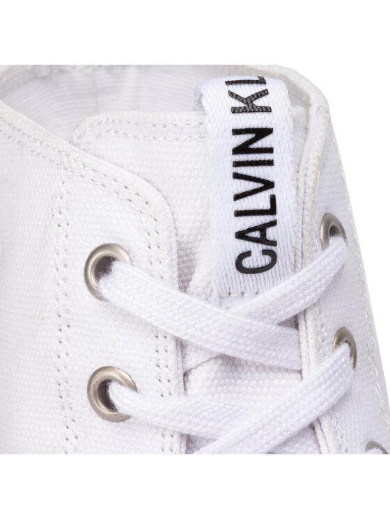 Calvin Klein Jeans Calvin Klein Jeans Laisvalaikio batai Moreen B4R0766 Balta