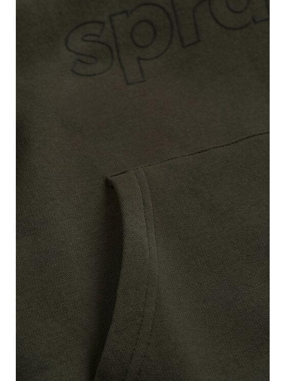 Sprandi Sprandi Bluza SS21-BLK005 Zielony Regular Fit