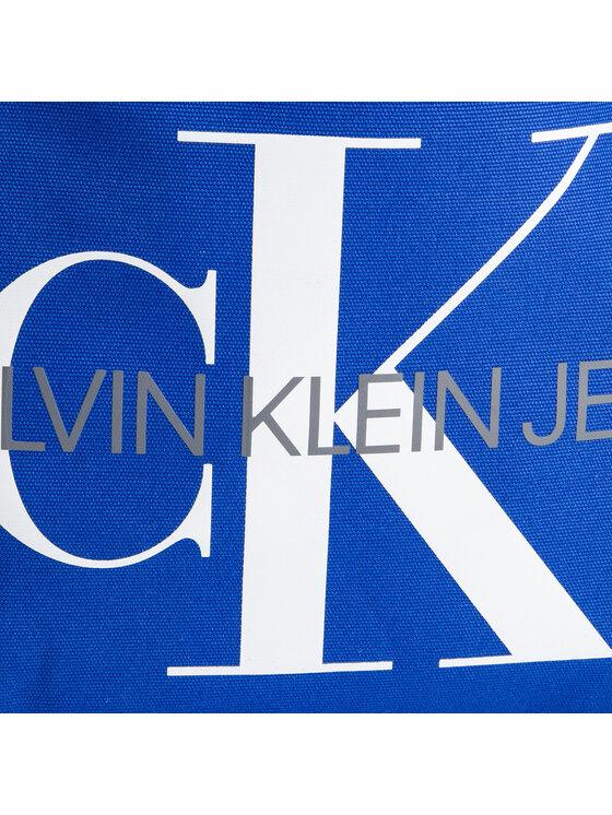 Calvin Klein Jeans Calvin Klein Jeans Kabelka Canvas Utility Ew Bottom Tote M K60K605310 Tmavomodrá