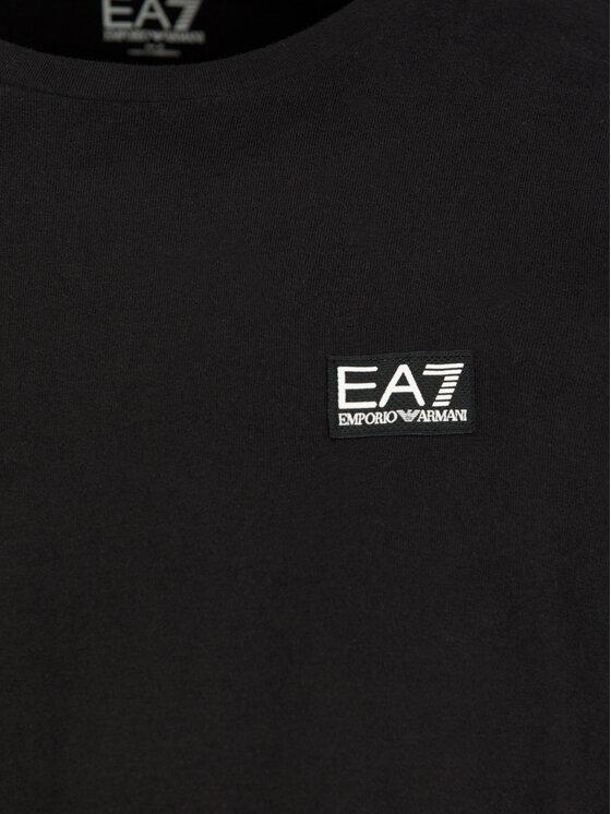 EA7 Emporio Armani EA7 Emporio Armani T-Shirt 6GPT38 PJ2AZ 1200 Czarny Regular Fit
