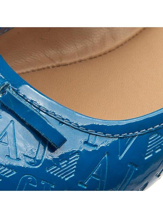 Armani Jeans Armani Jeans Балеринки A5527 28 Z8 Син