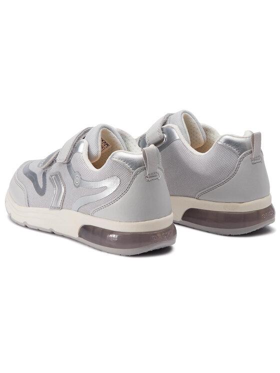 Geox Geox Sneakersy J Spaceclub G.C J928VC 014AJ C0570 D Šedá
