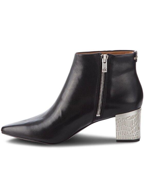 Calvin Klein Calvin Klein Členková obuv Narla E5926 Čierna