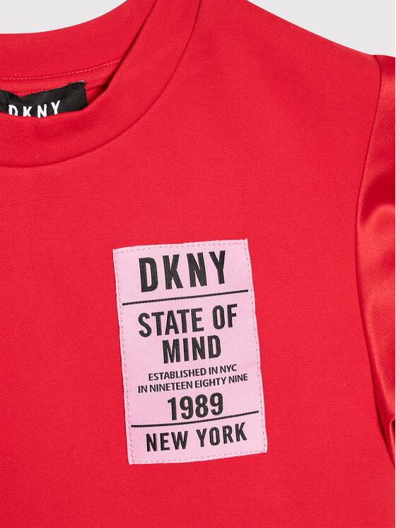 DKNY DKNY Haljina za svaki dan D32800 M Crvena Regular Fit