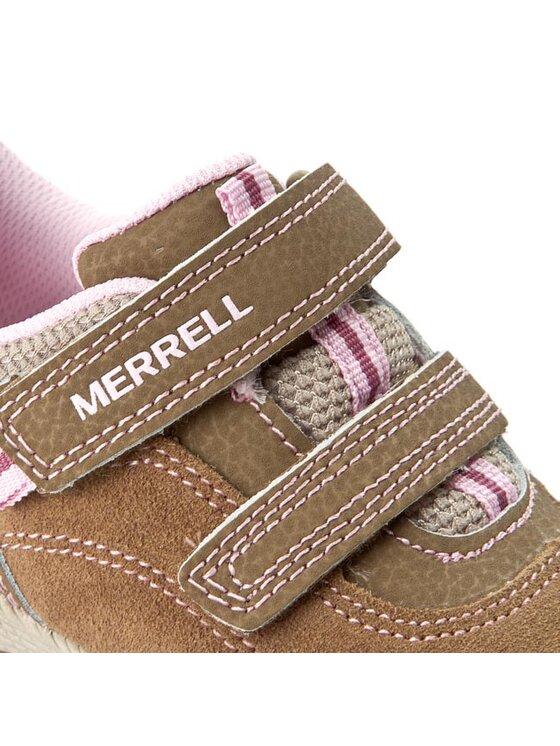 Merrell Merrell Półbuty Allout Athlsur MC54584 Brązowy