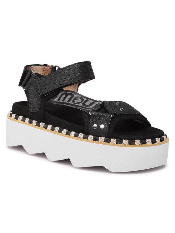 Mou Basutės New Bio Sandal Side Logo SW271006N Juoda