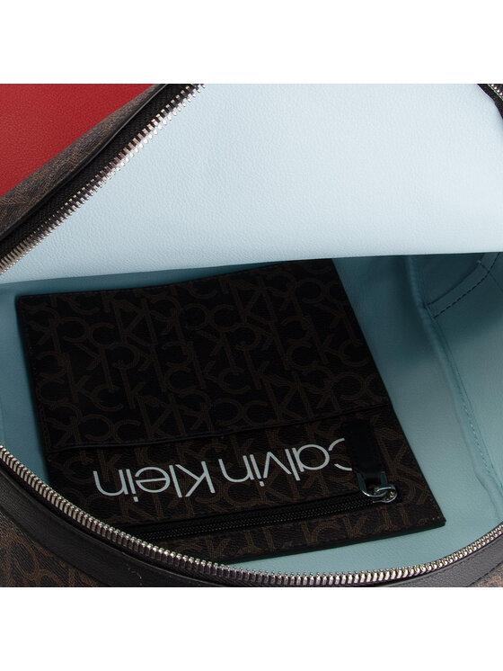 Calvin Klein Calvin Klein Plecak Monogram Backpack Cb K60K605078 Brązowy
