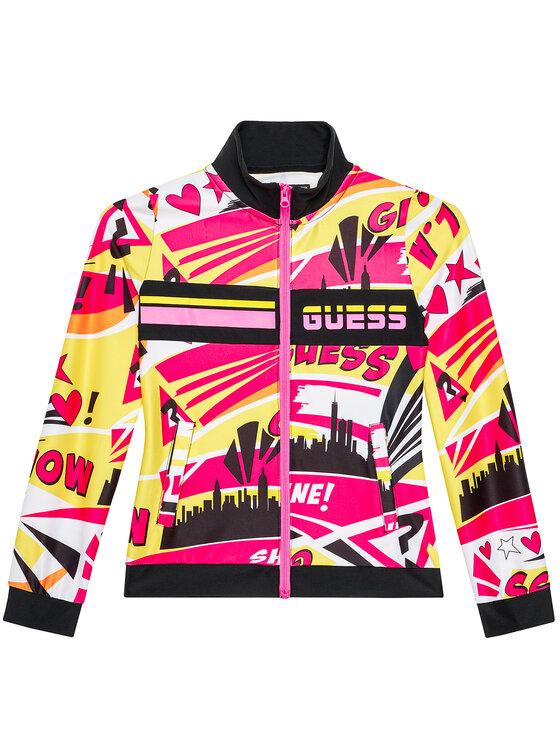 Guess Guess Bluza J1RQ15 MC01P Kolorowy Regular Fit