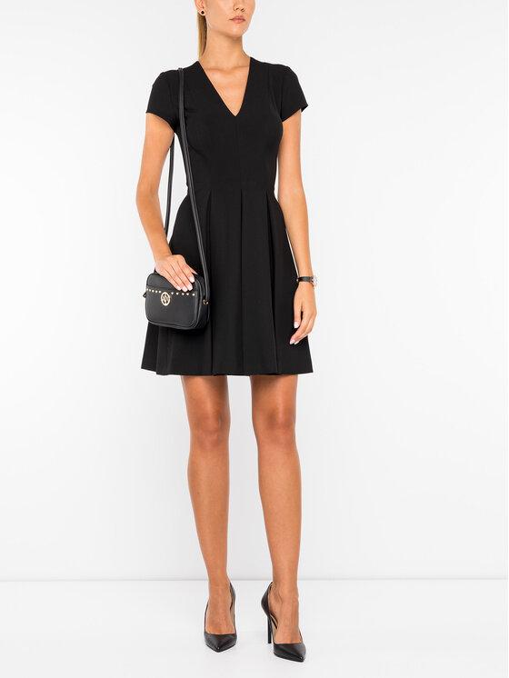 Emporio Armani Emporio Armani Коктейлна рокля 6G2A62 2N2PZ 0999 Черен Regular Fit