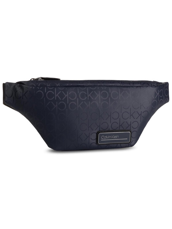 Calvin Klein Calvin Klein Saszetka nerka Industrial Mono Waistbag K50K504787 Granatowy