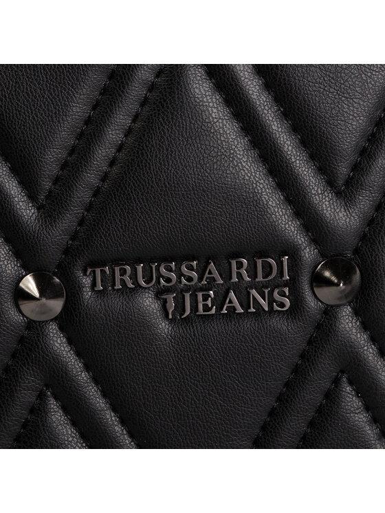 Trussardi Trussardi Jeans Torebka T-Cube Q Tote 75B00798 Czarny