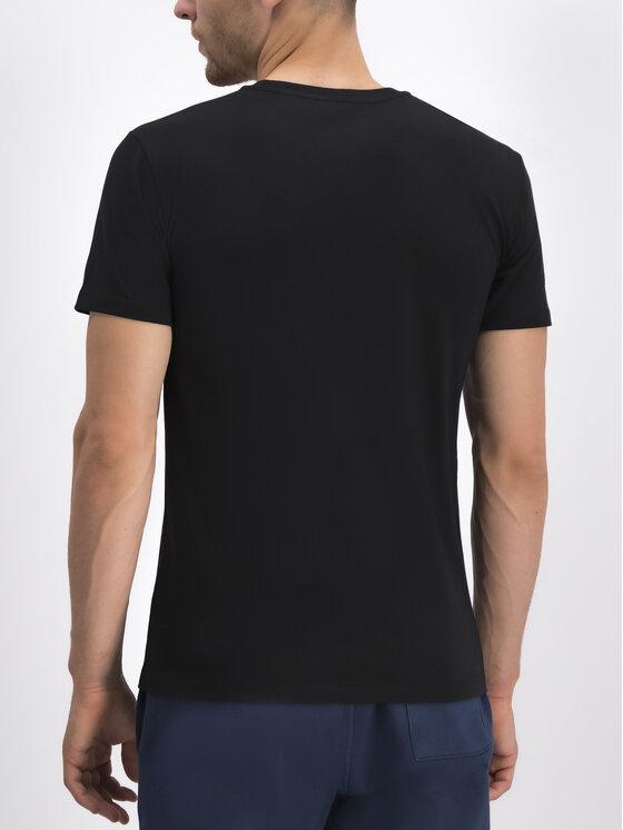 Trussardi Jeans Trussardi Jeans Marškinėliai Levriero 52T00285 Juoda Regular Fit