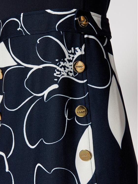 DKNY DKNY Sukienka koktajlowa DD0K1308 Granatowy Regular Fit