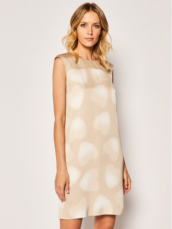 Escada Sport Kasdieninė suknelė Dipdi 5032691 Smėlio Regular Fit