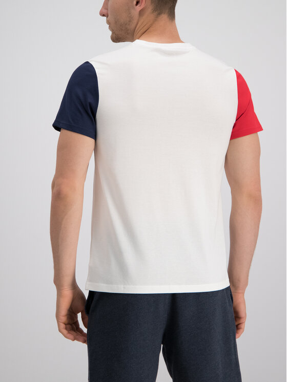 Tommy Sport Tommy Sport T-Shirt S20S200103 Bílá Regular Fit
