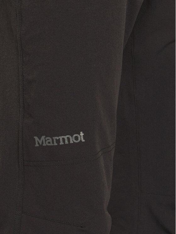 Marmot Marmot Spodnie outdoor 81910 Czarny Regular Fit