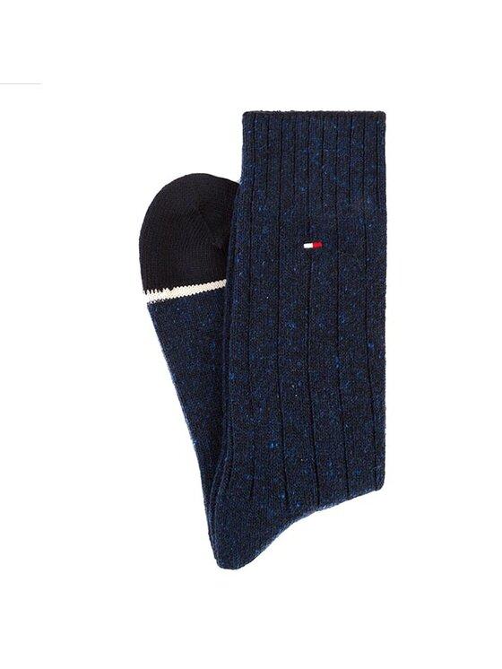 Tommy Hilfiger Tommy Hilfiger Κάλτσες Ψηλές Ανδρικές 442022001 Σκούρο μπλε