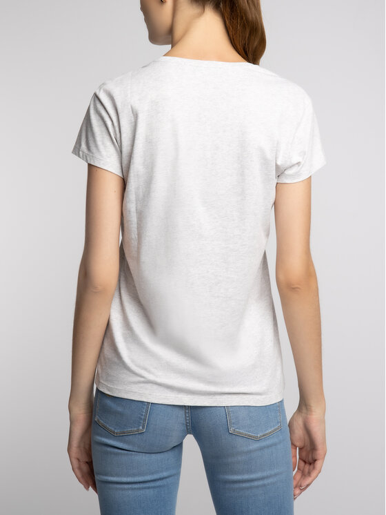 KARL LAGERFELD KARL LAGERFELD T-Shirt 81KW1729 Γκρι Regular Fit