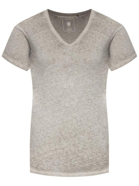 G-Star Raw G-Star Raw T-Shirt D14568-B562-1359 Šedá Regular Fit