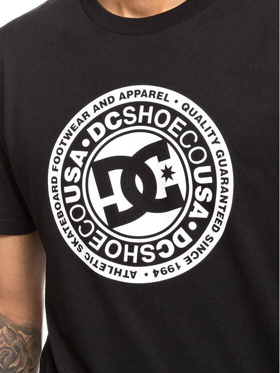 DC DC T-Shirt EDYZT03901 Μαύρο Regular Fit