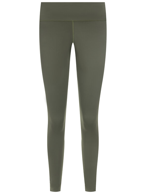 Tommy Sport Tommy Sport Leggings Highwaist Logo S10S100345 Verde Slim Fit