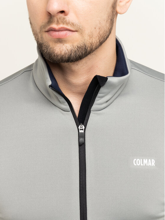 Colmar Colmar Bluza techniczna Zip-Up Thermal Ski 8377 9UE Szary Slim Fit