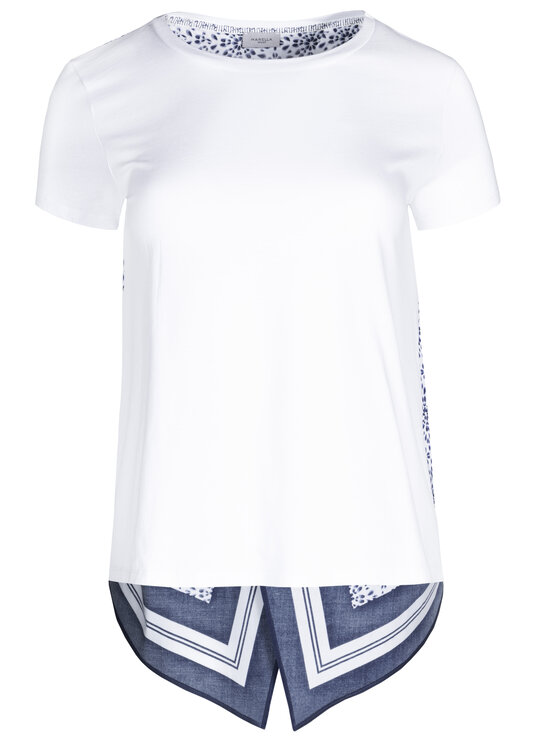 Marella Sport Marella Sport Chemisier 39710495 Blanc Regular Fit