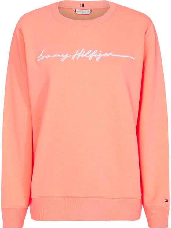 Tommy Hilfiger Tommy Hilfiger Sweatshirt Annie WW0WW27183 Rose Regular Fit