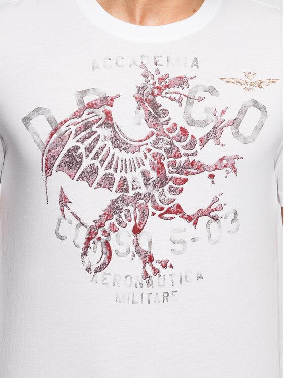 Aeronautica Militare Aeronautica Militare T-Shirt 191TS1616J404 Λευκό Regular Fit
