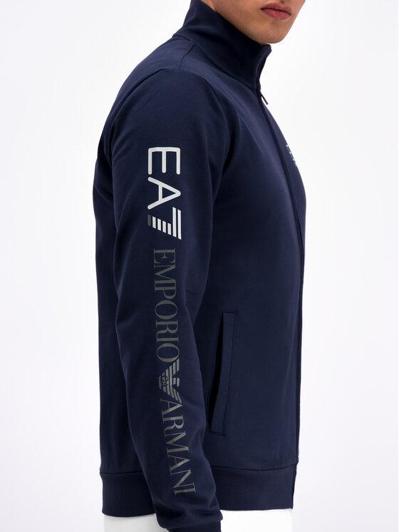 EA7 Emporio Armani EA7 Emporio Armani Bluză 3GPM23 PJ05Z 1554 Bleumarin Regular Fit