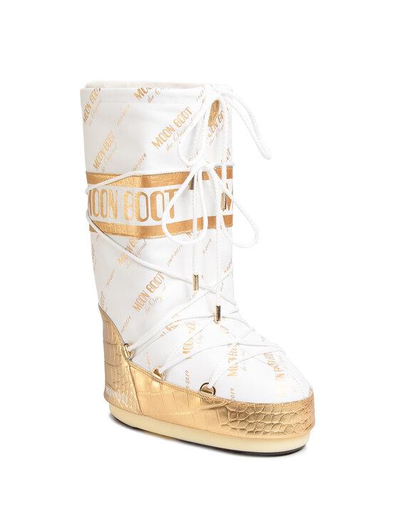 Moon Boot Sniego batai Classic 50 All Over 14025700001 Balta
