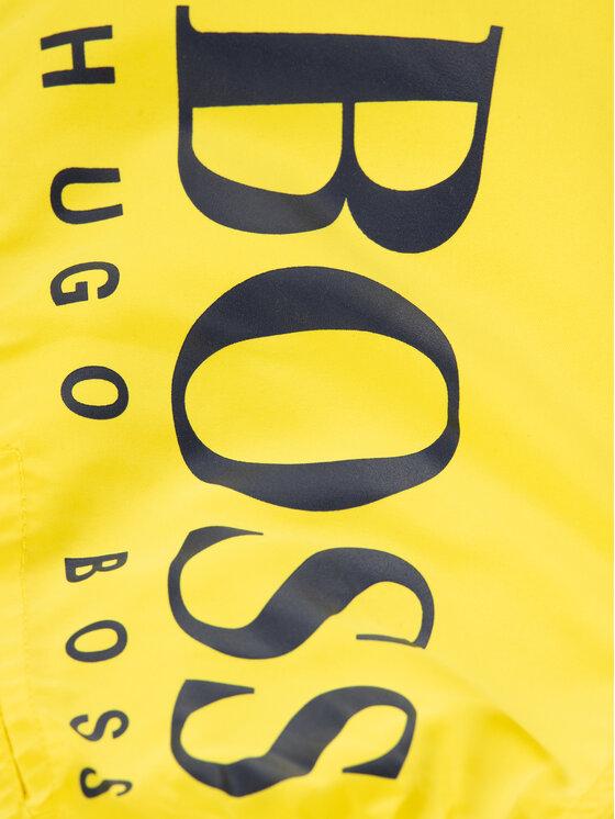 Boss Boss Plaukimo šortai J24650 M Geltona Regular Fit