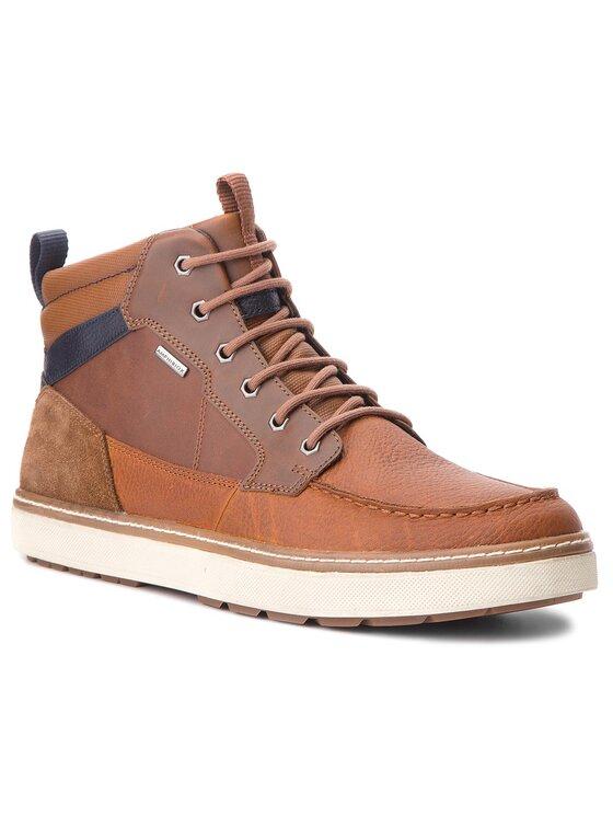 Geox Geox Kotníková obuv U Mattias B Abx B U84T1B 046EK C6GF4 Hnědá
