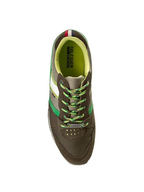 Tommy Hilfiger Tommy Hilfiger Sportcipő Roan 1C - 1 EM56818778 Zöld