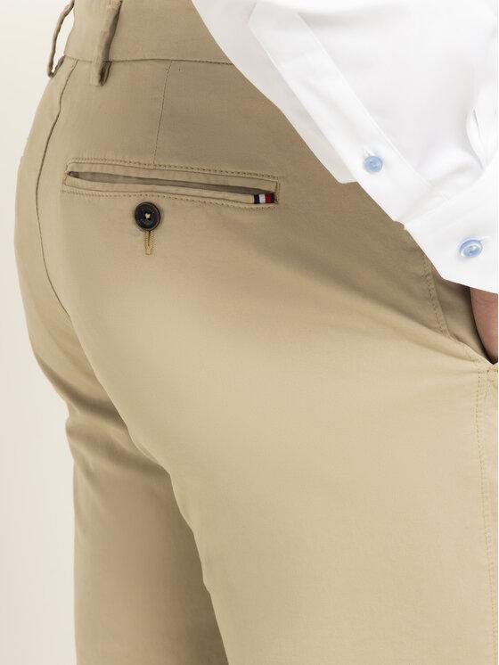Tommy Hilfiger Tailored Tommy Hilfiger Tailored Medžiaginės kelnės Flex TT0TT06924 Smėlio Slim Fit
