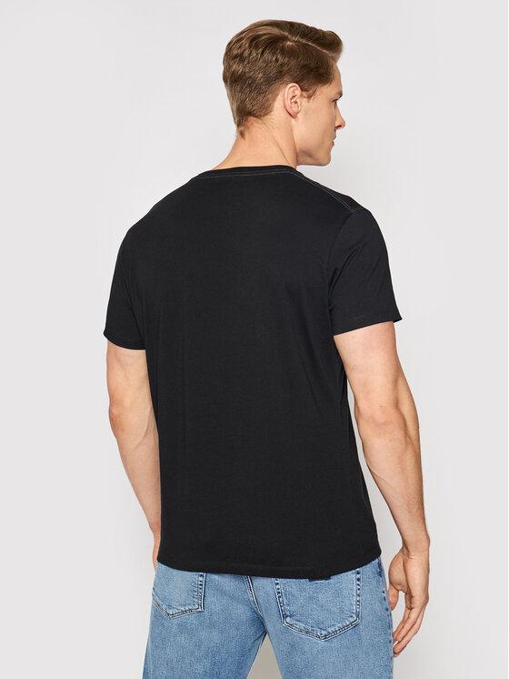 Pepe Jeans Pepe Jeans T-Shirt Eggo PM500465 Μαύρο Regular Fit