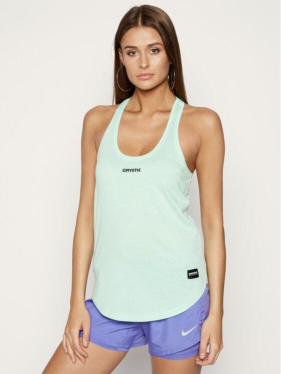 Mystic Marškinėliai Coral Singlet 35105.200549 Žalia Regular Fit