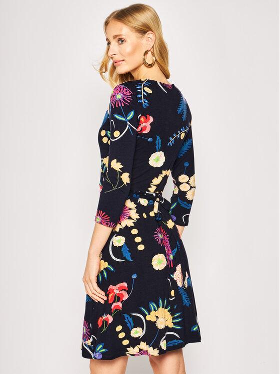 Desigual Kleid für den Alltag Vest Tropic India 20SWVK13 ...