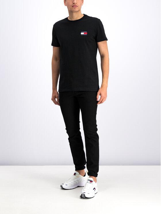 Tommy Jeans Tommy Jeans Marškinėliai DM0DM06595 Juoda Regular Fit