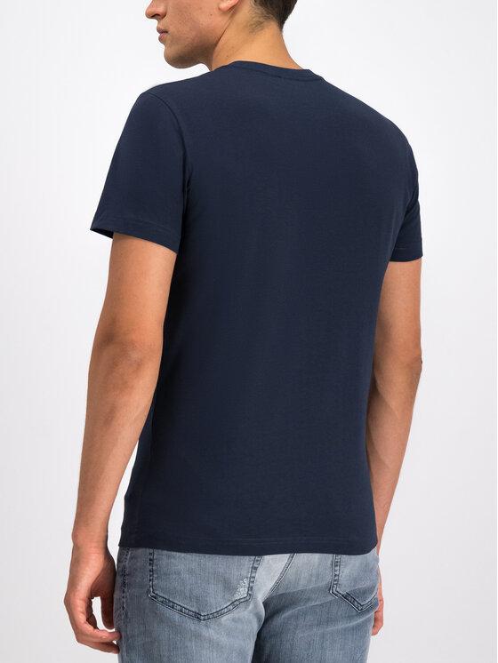 Diesel Diesel T-Shirt 00SZ7W 0PATI Tmavomodrá Regular Fit