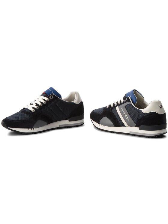 Tommy Hilfiger Tommy Hilfiger Laisvalaikio batai New Iconic Sporty Runner FM0FM01655 Tamsiai mėlyna