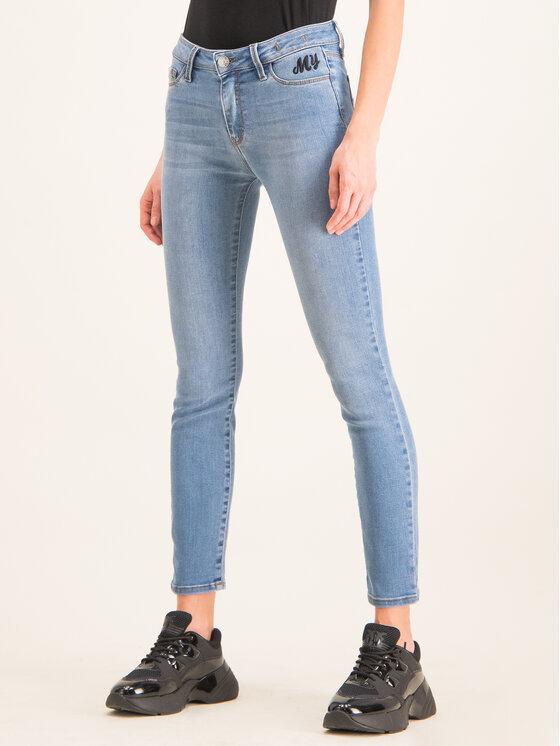 My Twin jeansy_skinny_fit 201MP2320 Mėlyna Skinny Fit