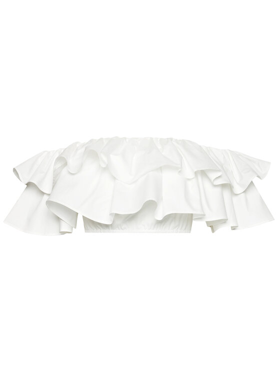 Guess Guess Blúz W1GH0K WDXM0 Fehér Regular Fit