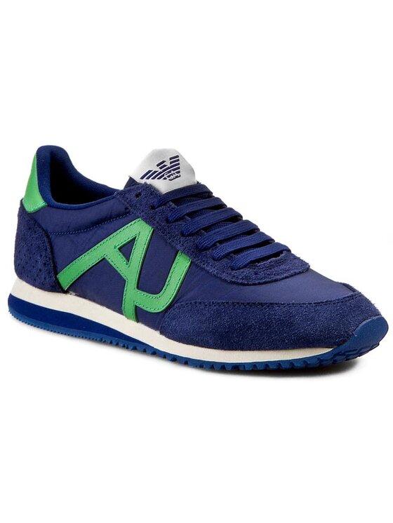 Armani Jeans Armani Jeans Sneakersy Z6528 31 5G Modrá