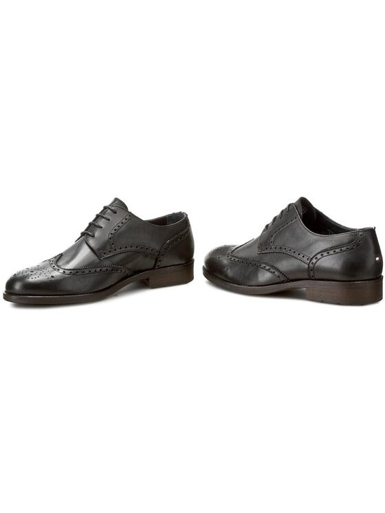 Tommy Hilfiger Tommy Hilfiger Chaussures basses Dominic 1A FM56821924 Noir