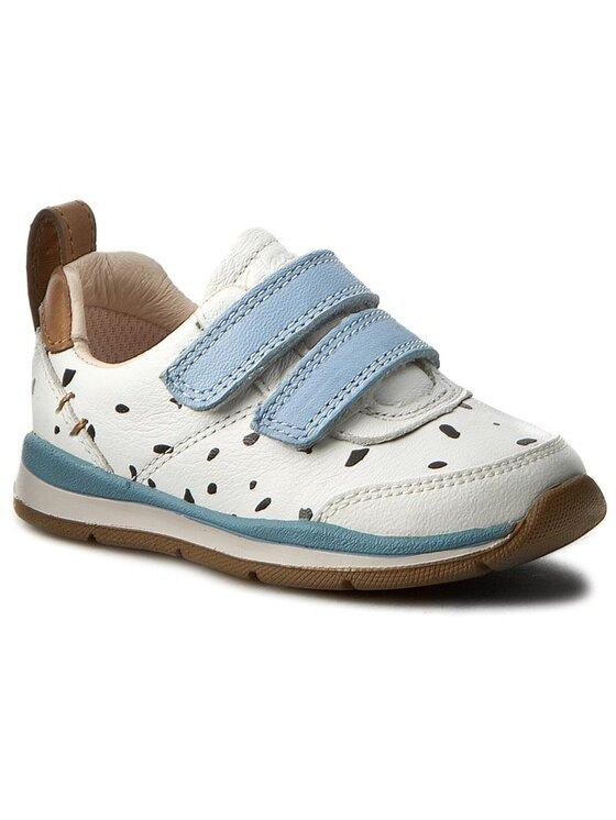 Clarks Clarks Κλειστά παπούτσια Ferrisvibe Fst 261234386 Λευκό