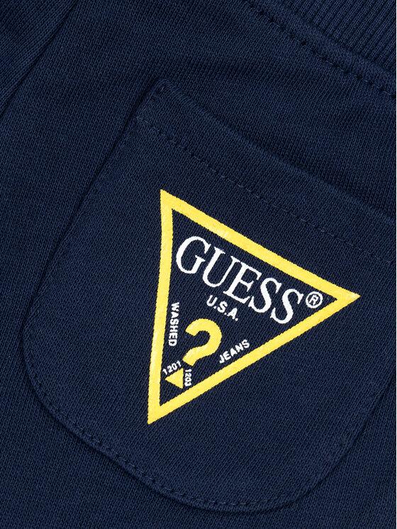 Guess Guess Pantaloni da tuta I93Q04 K5WK0 Blu scuro Regular Fit