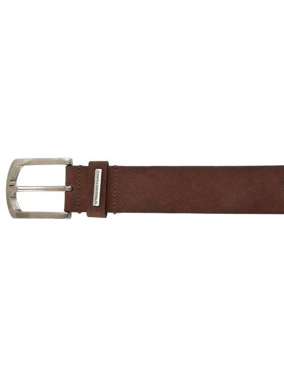 Trussardi Trussardi Jeans Herrengürtel Placchetta Passante Cintu 71C552 90 Braun